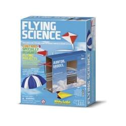 Flying Science COSTRUISCI 9 OGGETTI VOLANTI età 8+ 4M kit scientifico x bambini