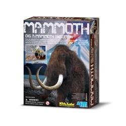 DIG A MAMMOTH scava e riporta alla luce un Mammut DINOSAURI kit artistico 4M 8+